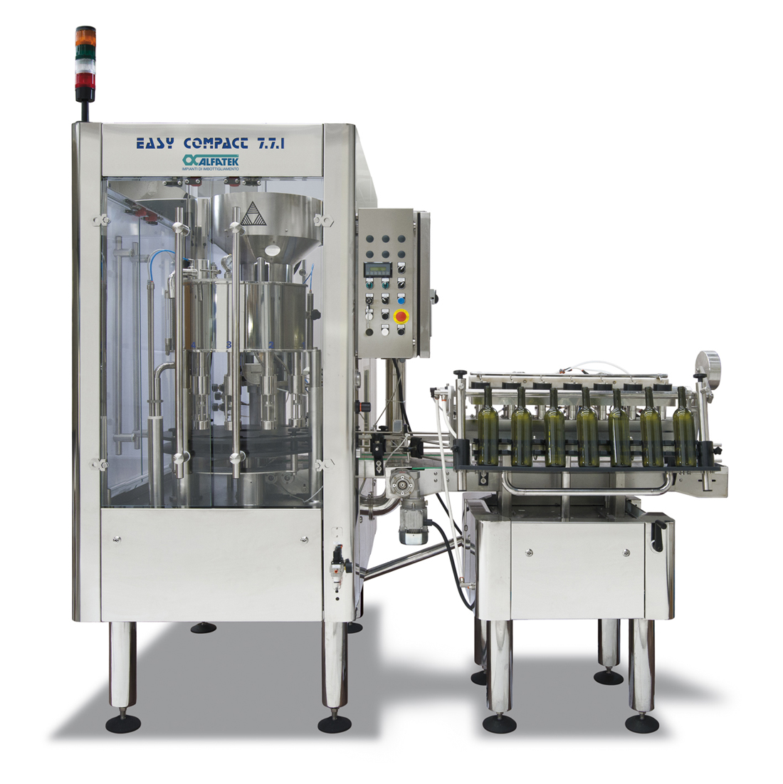 Easy Compact 7/7/1 BLP - Beer Low Pressure per piccoli birrifici