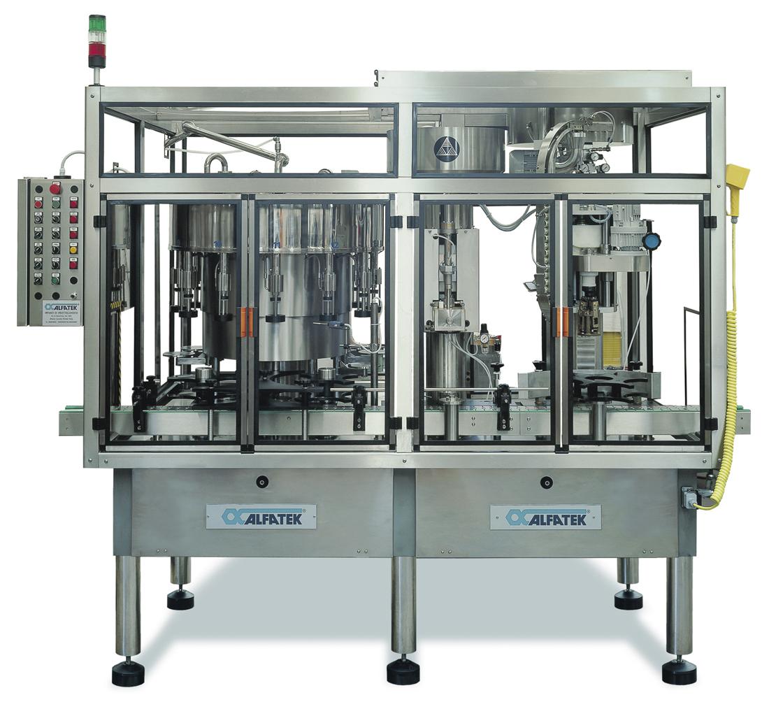 Monoblocco per dame da 3 e 5 Litri OLP - Oil Low Pressure  Antiox Deox System®