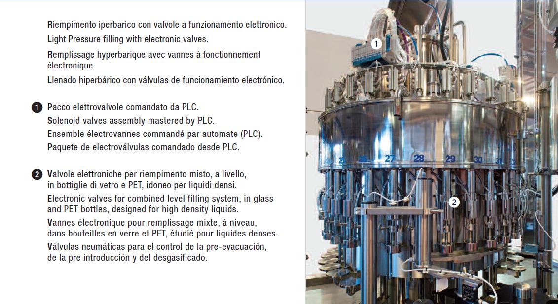 Low Pressure Elettronic - Riempimento a livello elettronico