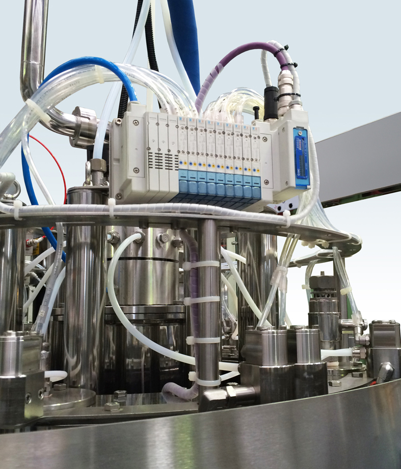 High Pressure Electronics - Riempimento con tecnologia isobarica elettronica